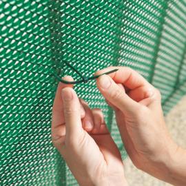 Nortene Rögzítő hálókhoz és rácsokhoz - BRIDFIX gyorskötöző (14 cm, 50 db) szürke