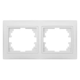 Kanlux DOMO - Kettes keret, vízszintes, fehér