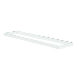 Kanlux Bravo kiemelő keret LED panelhez, 120x30x4.5cm, összeszerelt, fehér
