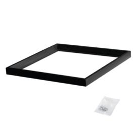 Kanlux Bravo kiemelő keret LED panelhez, 60x60x4.5cm, összeszerelt, fekete