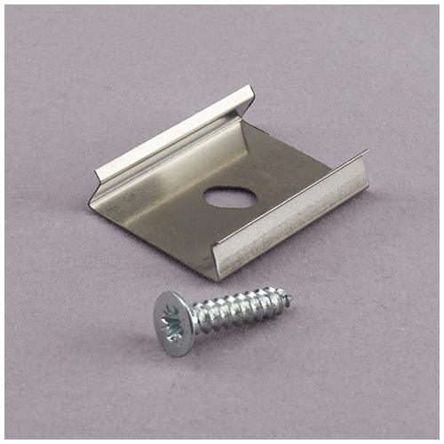 Alumínium U profilhoz fém rögzítő és tartóelem