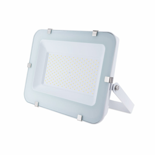LED reflektor 150W, SMD fehér, 150°, IP65,semleges fehér fény, 100cm kábellel (FL5787)