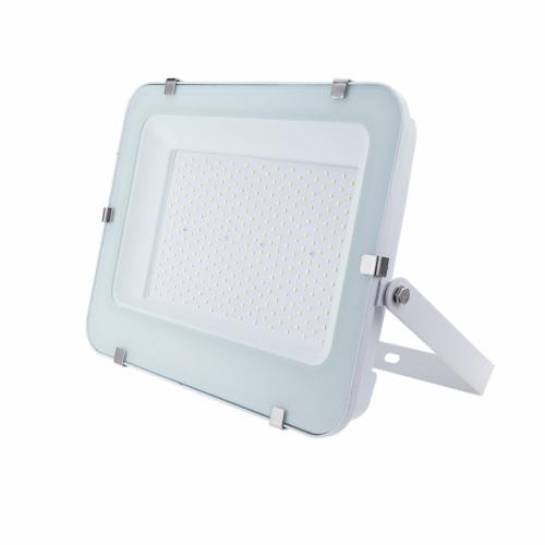 LED reflektor 200W, SMD fehér, 150°, IP65, fehér fény, 100cm kábellel (FL5788)