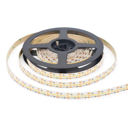 LED szalag, 2110, 24V, 700 SMD/m, nem vízálló, 12MM 38W/M 3400LM/M CRI90, Meleg fehér fény (ST4406)