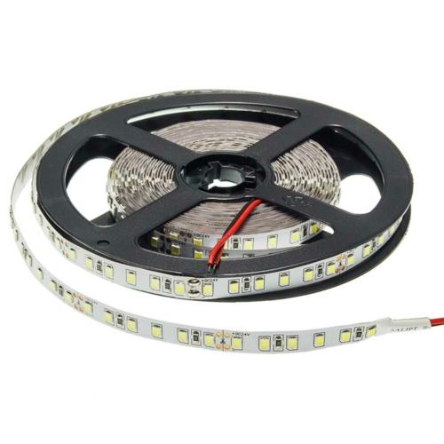 LED szalag, 2835, 24V, 120 SMD/m, nem vízálló, semleges fehér fény (ST4857)