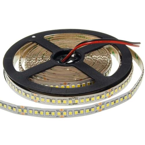 LED szalag, 2835, 24V, 196 SMD/m, nem vízálló, meleg fehér fény (ST4423)