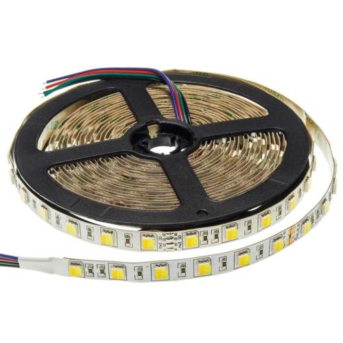 LED szalag, 5025, 24V, 60 SMD/m, vízálló, 16W/m, CCT (ST4471)