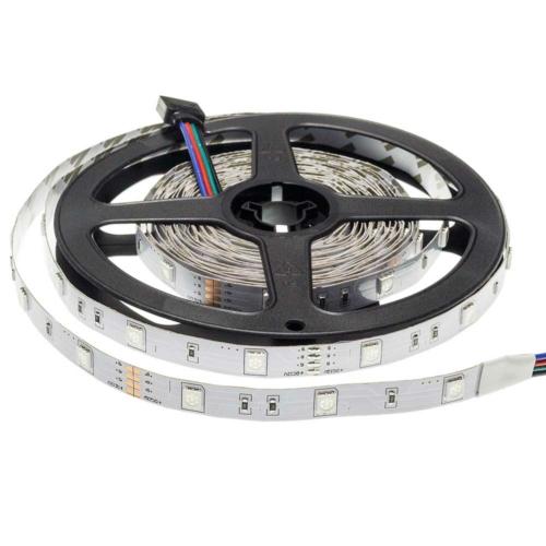 LED szalag, 5050, 30 SMD/m, nem vízálló, RGB (ST4311)