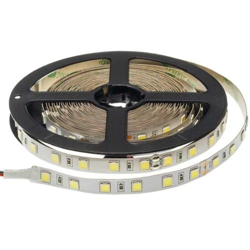 LED szalag, 5054, 24V, 60 SMD/m, nem vízálló, semleges fehér fény (ST4432)