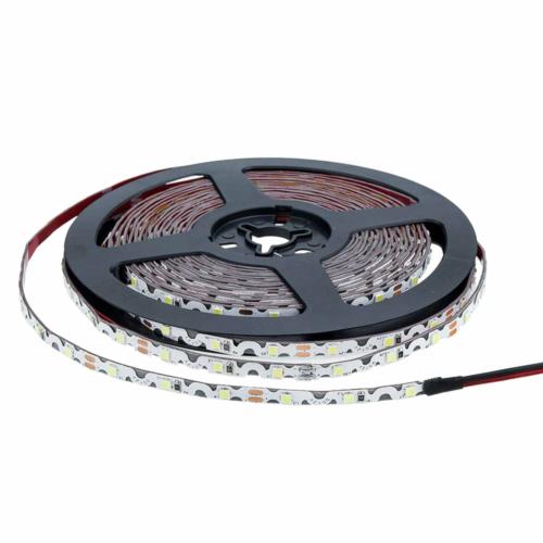 LED szalag, cikk-cakk, 2835, beltéri - meleg fehér (MO4542)