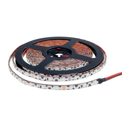 LED szalag, cikk-cakk, 2835, beltéri - zöld fehér (MO4545)