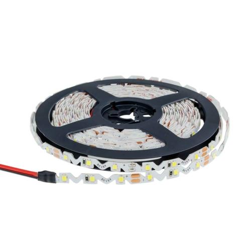 LED szalag, cikk-cakk, 2835, kültéri - hideg fehér (MO4551)