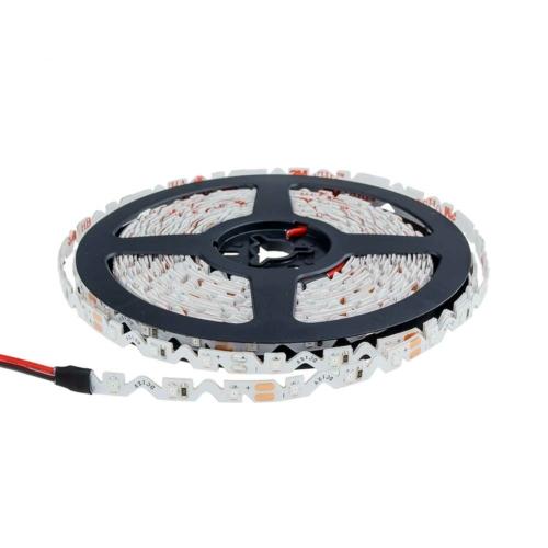 LED szalag, cikk-cakk, 2835, kültéri - piros fehér (MO4553)