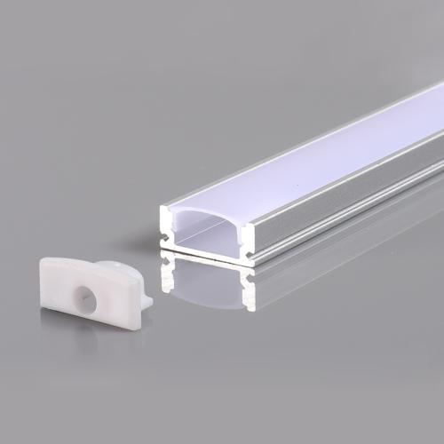LED szalaghoz alumínium profil 17,4*7*12,4mm - 2m - fehér (OT5184)