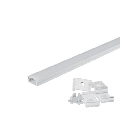 LED szalaghoz alumínium profil 6 mm - 1 m (OT5190)