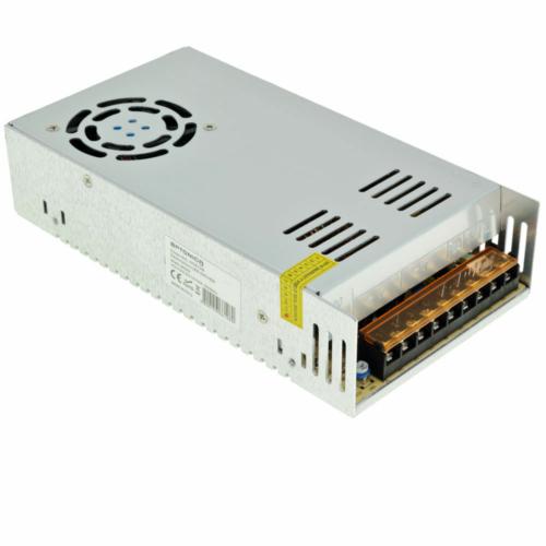 Tápegység LED szalagokhoz 360W, 30A, 12V DC, IP20, fém ház (AC6108)