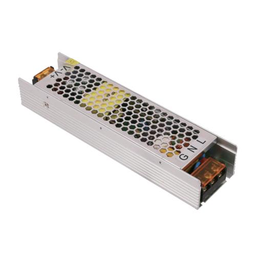 Tápegység LED szalagokhoz, 100W, 8,4A, 12V, fém ház - 3 év garancia (AC6212)