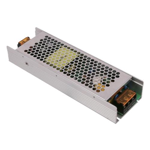 Tápegység LED szalagokhoz, 200W, 16,7A, 12V, fém ház - 3 év garancia (AC6214)