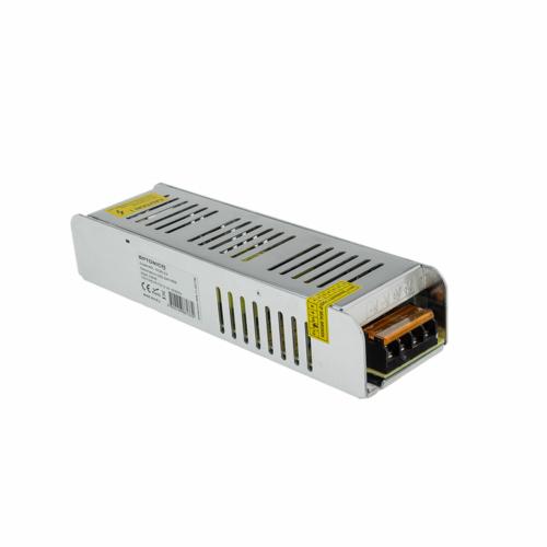 Tápegység LED szalagokhoz, SLIM, 150W, 6,2A, 24V, fém ház (AC6163)
