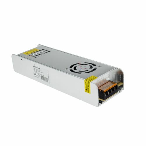 Tápegység LED szalagokhoz, SLIM, 250W, 20A, 12V, fém ház (AC6134)