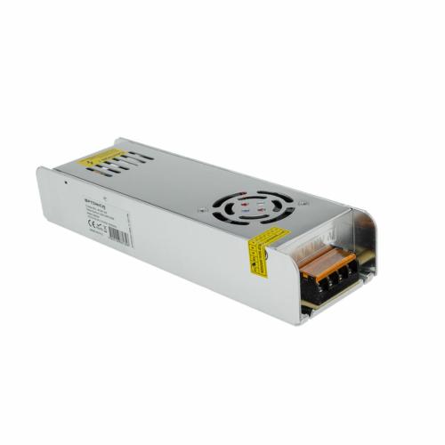 Tápegység LED szalagokhoz, SLIM, 360W, 30A, 12V, fém ház (AC6135)