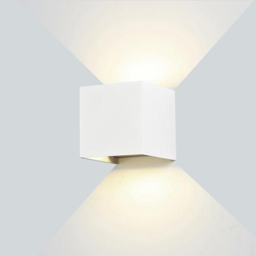 Fehér fali lámpa, 230V, 12W, 1320LM, 4000K - IP54 (WL7460)