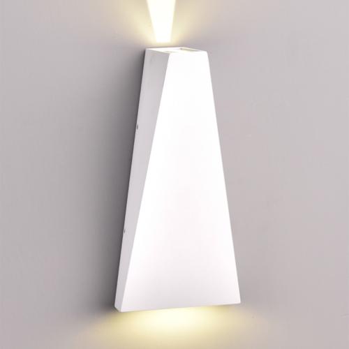 Fehér fali lámpa, CREE 230V, 6W, 660LM, 3000K - IP54 (WL7469)