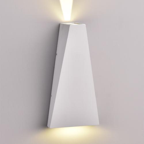 Szürke fali lámpa, CREE 230V, 6W, 660LM, 3000K - IP54 (WL7471)