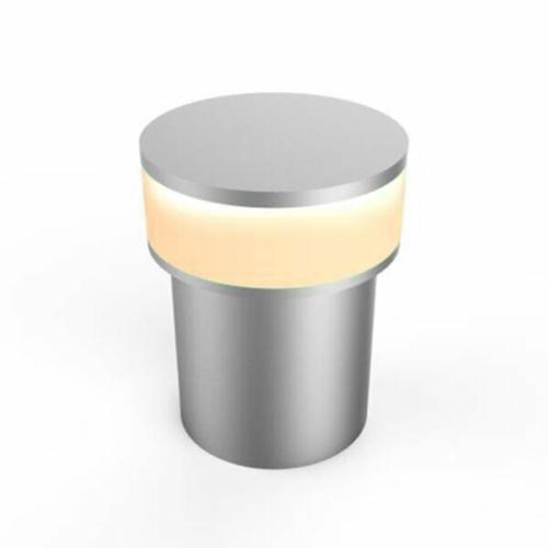 LED fali lámpa, 1,3W Borostyán sárga fény (Amber), alumínium (DL0568)