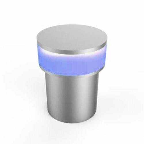LED fali lámpa, 1,3W Kék fény, alumínium (DL0566)