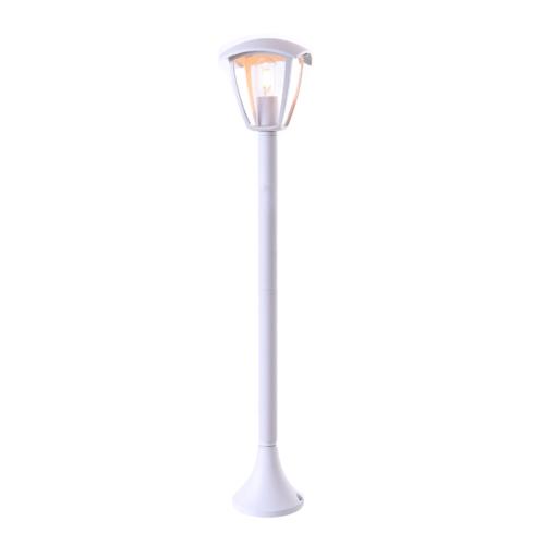 Álló kerti lámpa LAWN, matt fehér, 90 cm, alumínium, 1xE27 (GD9312)
