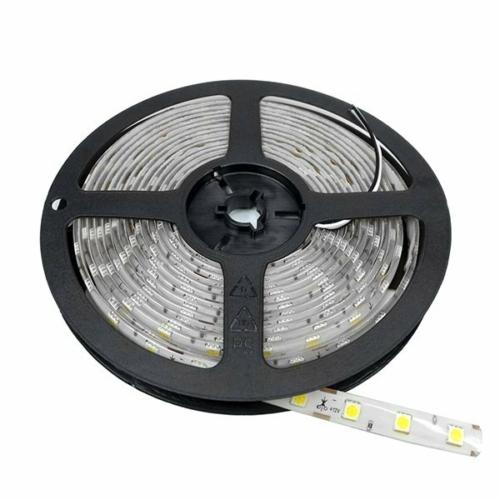 LED szalag; 5050 60 SMD/m, 12V, Piros szín - IP54 (ST4843)