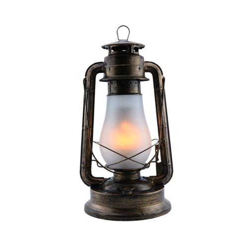 LED viharlámpa, 5W, SMD, 230V, bronz, E27 (PD9041)