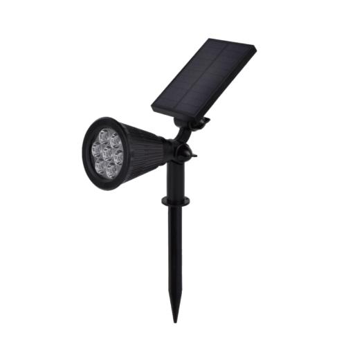LED napelemes, leszúrható kerti lámpa, 1.5W, zöld fény, 60LM, IP65 (GD9324)