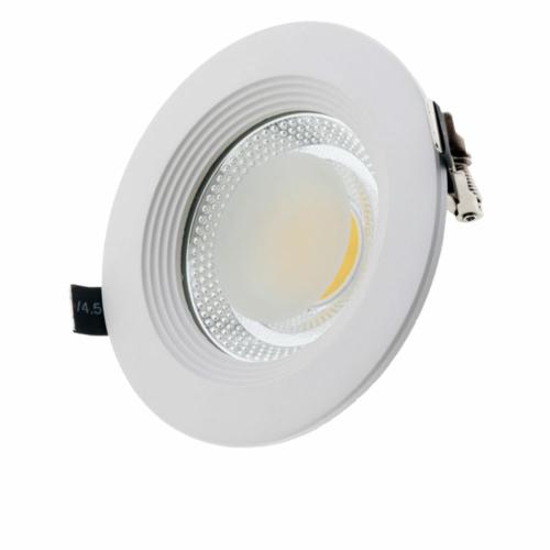 LED süllyeszthető spotlámpa, 15W, COB, kerek, meleg fehér fény (CB3162)