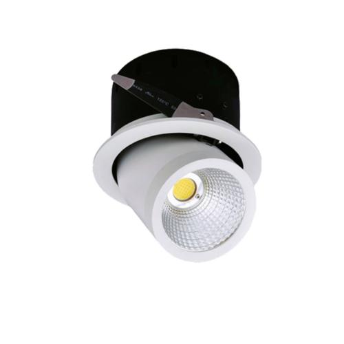LED süllyeszthető spotlámpa, 35W, COB, forgatható, meleg fehér fény (CB3239)