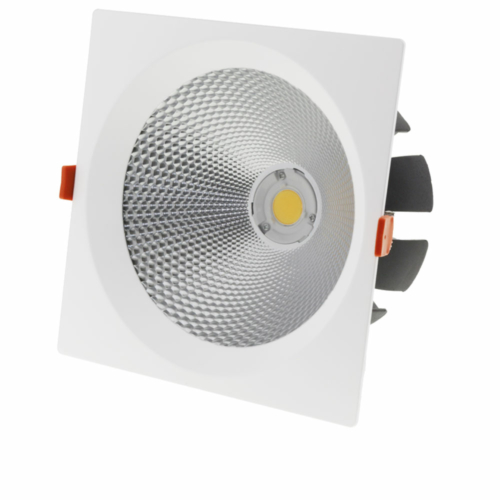 LED süllyeszthető spotlámpa, 40W, COB,  billenthető, semleges fehér fény (CB3236)