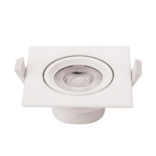LED süllyeszthető spotlámpa,7W, COB,négyzet,billenthető, fehér fény, 525LM (CB3287)
