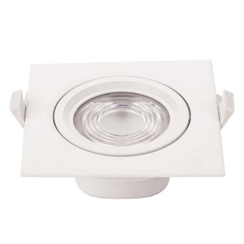 LED süllyeszthető spotlámpa,10W, COB,négyzet,billenthető, semleges fehér fény, 750LM (CB3294)
