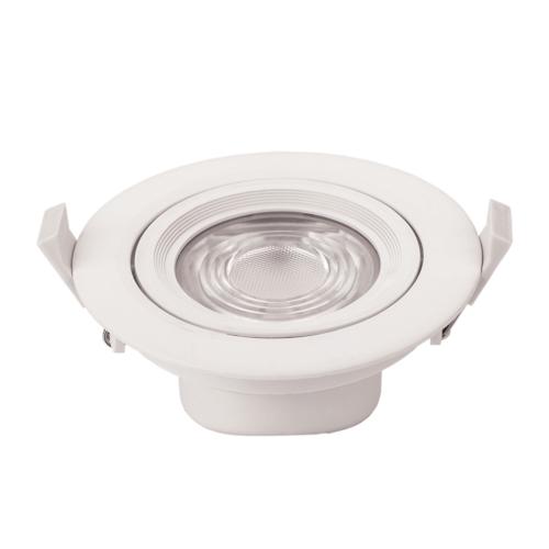 LED süllyeszthető spotlámpa,10W, COB,kerek,billenthető, fehér fény, 750LM (CB3290)