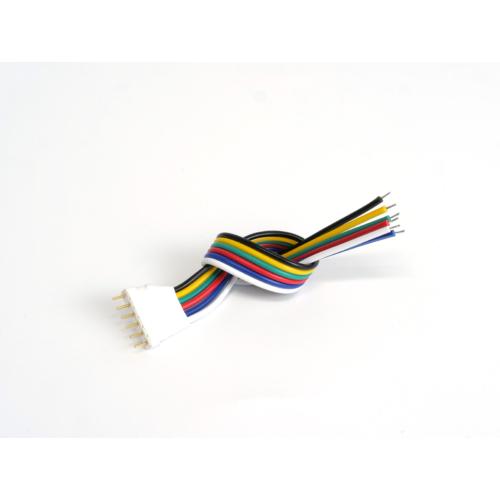 LED Forrasztható 6 tüskés RGB+CW+WW csatlakozó, 15cm vezetékkel (22985)