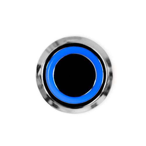 Bútorba építhető érintőkapcsoló és dimmer kék LED világítással 60W (18980)