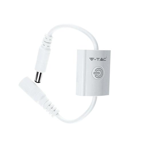 Design érintőkapcsoló LED szalaghoz, fehér (16895)