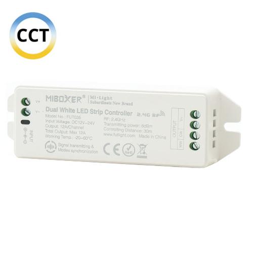 Group Control CCT csoport (zóna) Színhőmérséklet vezérlő két színű LED szalaghoz (16504)