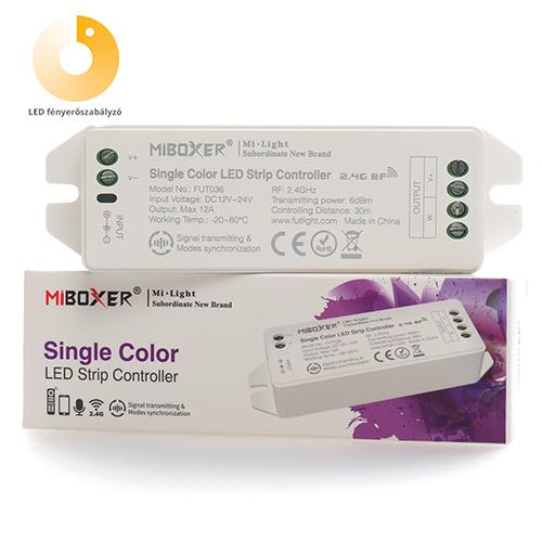 Group Control Dimmer csoport (zóna) LED szalag fényerő szabályzó: vezérlő (7853)