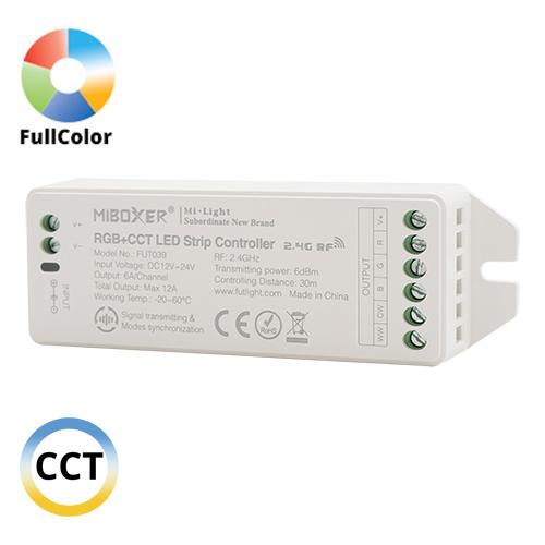 Group Control RGB+CCT csoport (zóna) vezérlő Full color LED szalaghoz (14878)