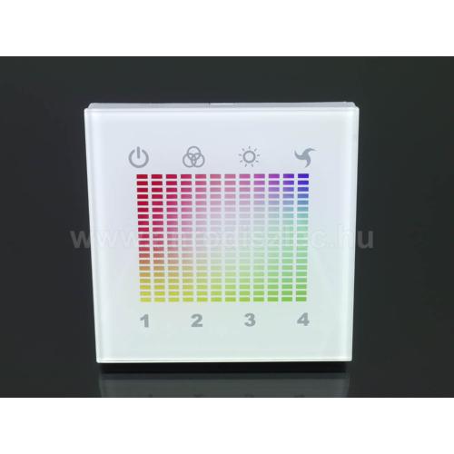 RGB DMX LED vezérlő (DMX-RGBLN), 144W (11067)
