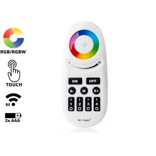 Group Control RGBW csoport (zóna) távirányító RGB+fehér LED szalaghoz, fekete (8088)