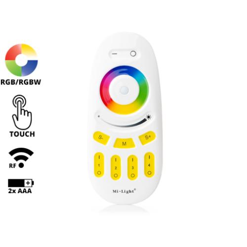 Group Control RGBW csoport (zóna) távirányító RGB+fehér LED szalaghoz, sárga (7850)