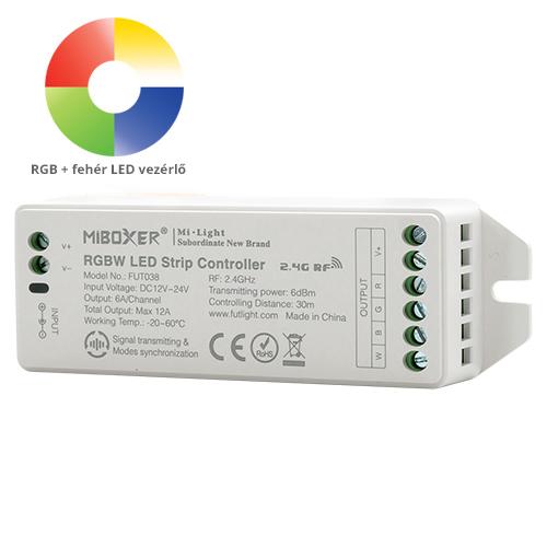 Group Control RGBW csoport (zóna) vezérlő RGB+fehér LED szalaghoz (8421)